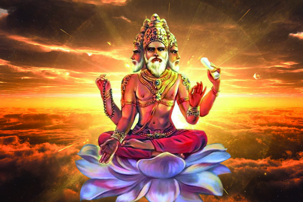 Brahma, Hindu god, Hindu deities, Brahma dev, piture, pictures, photo, art, wallpaper
