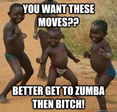 Zumba Funny Moves