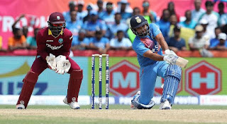Rohit Sharma 62 vs West Indies Highlights