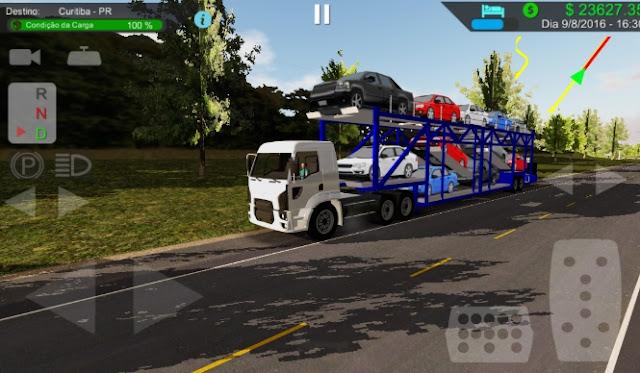 Heavy Truck Simulator v1.772 Mod Apk Data Terbaru (Kota Brazil)