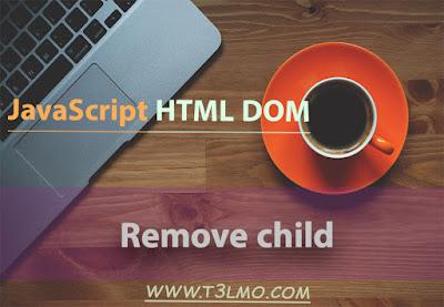 شرح remove child في DOM