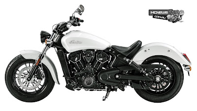 2016 Indian Scout Sixty Cruiser Motorcycle.