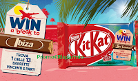 Logo ''Kitkat 2020 Travel Break'' : vinci viaggi e buono sconto come premio certo