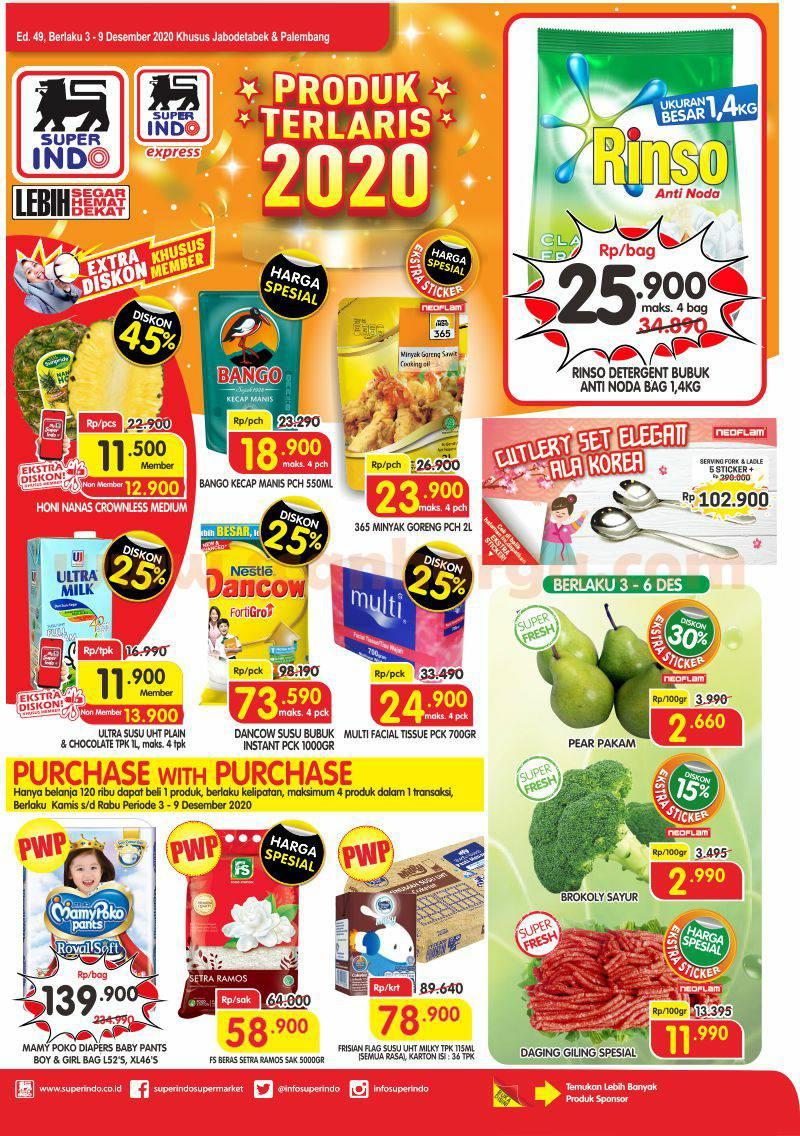 Katalog Promo Superindo Terbaru 3 - 9 Desember 2020 1