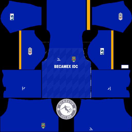 Kits Becamex Bình Dương 2020 - Dream League Soccer 2019 & First Touch Soccer