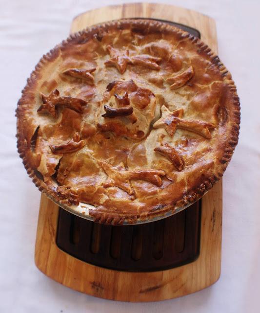 وصفة فطيرة التفاح بالآيس كريم
