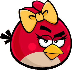 angry birds red female - photo #6