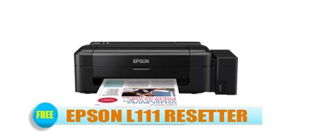 Epson L111 Adjustment Program