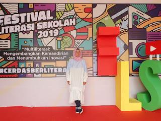 Festival Literasi Sekolah 2019 - Cerdas Berliterasi Membangun Masa Depan Generasi Milenial