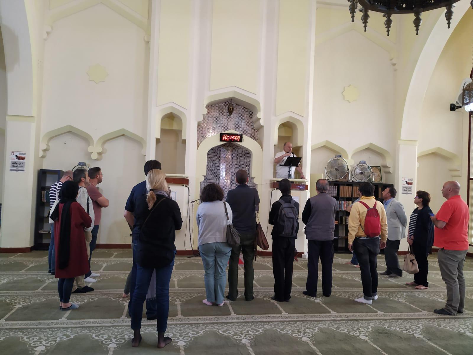 Islam Espana Visita A La Mezquita Central De Madrid En El Programa
