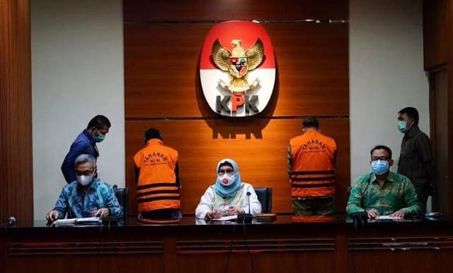 Dua oknum anggota DPRD Provinsi Jawa Barat dtetapkan sebagai tersangka