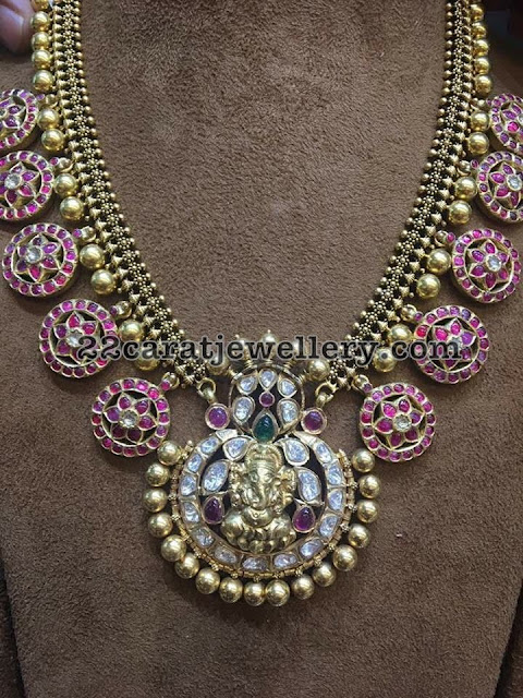 Latest Bottu Mala Designs
