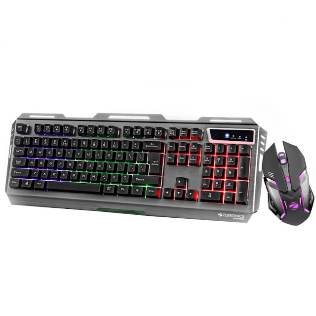 USB Keyboard & USB Mouse Combo For Gaming Multimedia