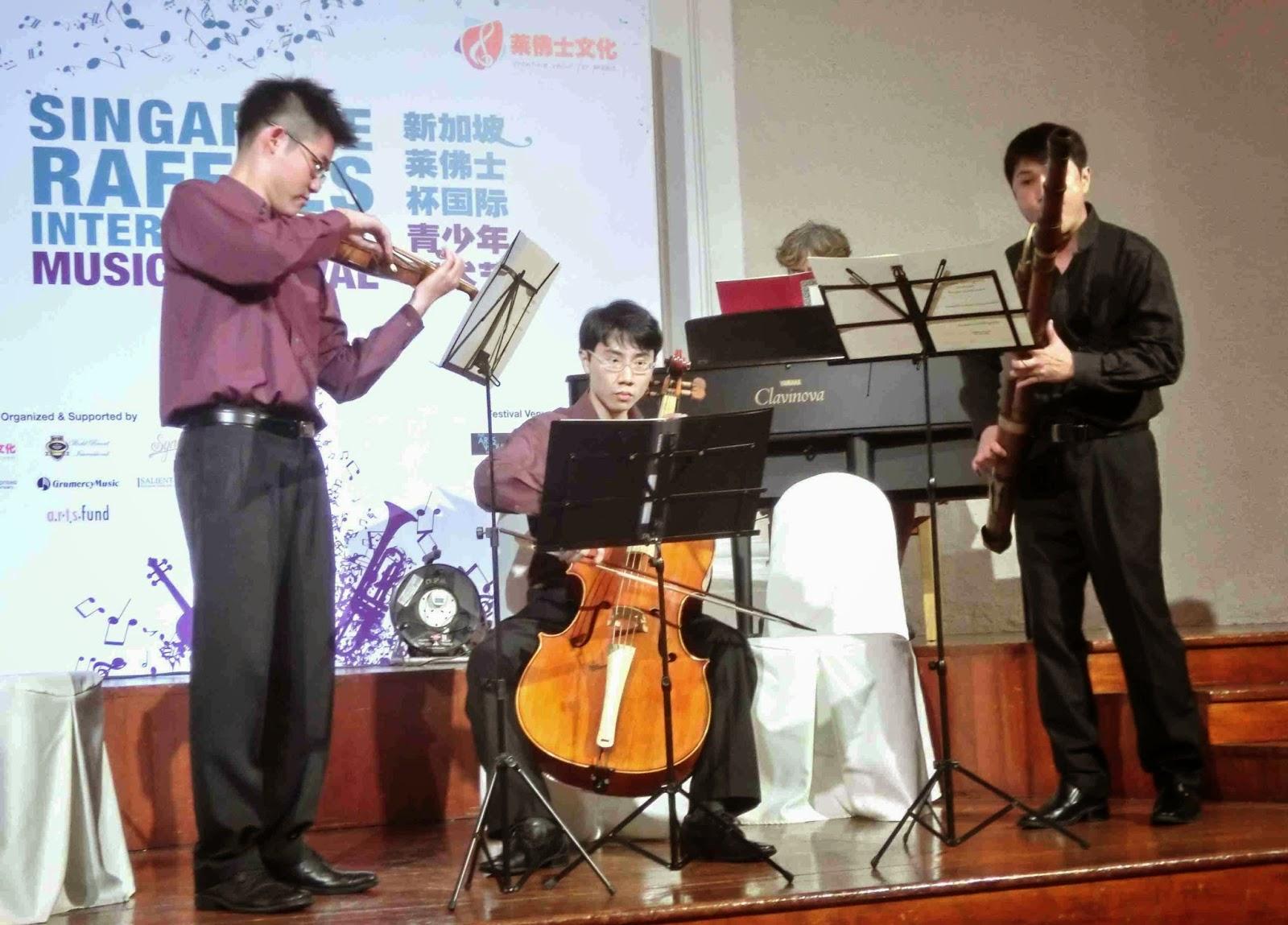 pianomania: VOICE OF CELLO & CHAMBER MUSIC NIGHT / Singapore Raffles