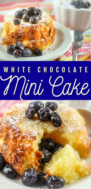 White Chocolate Mini Pound Cake