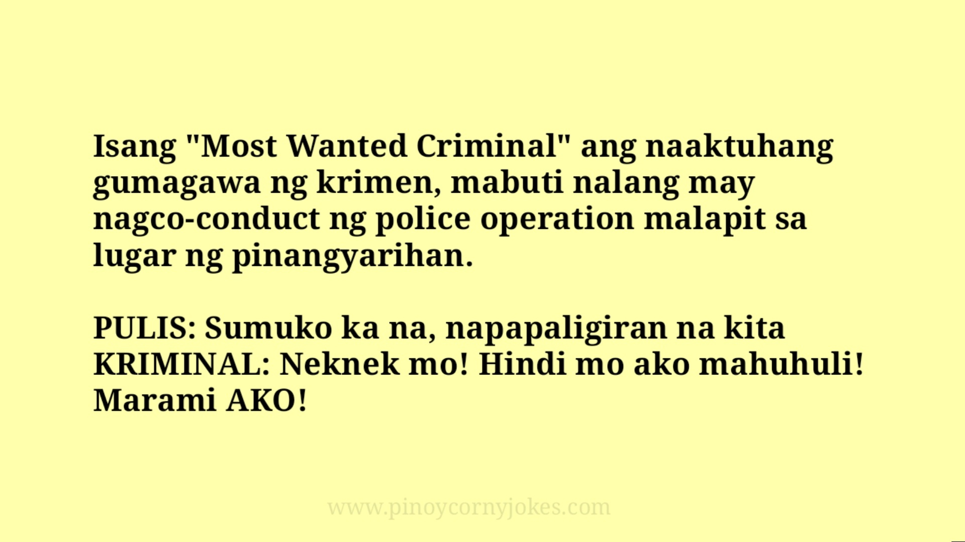 most wanted best pulis pinoy jokes