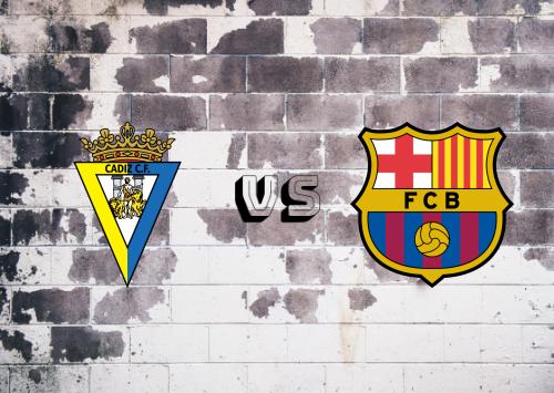Cádiz vs Barcelona  Resumen y Partido Completo