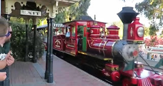 Disneyland Railroad Locomotive