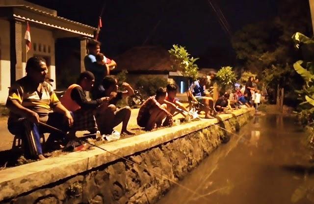 Mancing Mania Dusun Bulu Kecamatan Kutorejo Kabupaten Mojokerto Cara Kreatif Menjaga Keamanan Desa