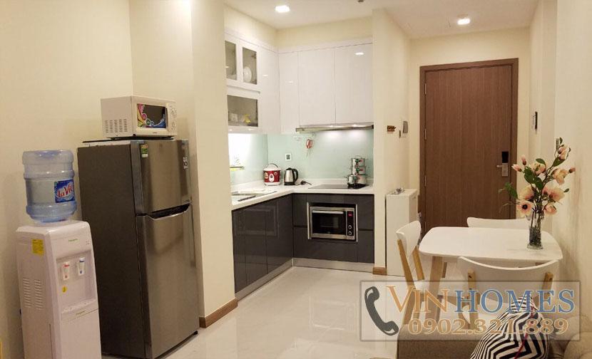 cho thuê căn hộ Vinhomes tại tháp P6 - vị trí bếp