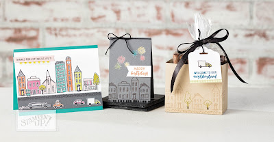 Stampin' Up! UK Independent  Demonstrator Susan Simpson, Craftyduckydoodah!, In The City, Supplies available 24/7 through my online store,