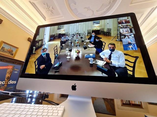 Τηλεδιάσκεψη με τον Πρωθυπουργό είχε ο Περιφερειάρχης
