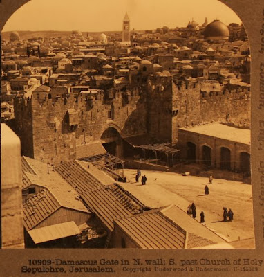 Let's do the time warp: Stunning pix of Jerusalem from over 100 years ago