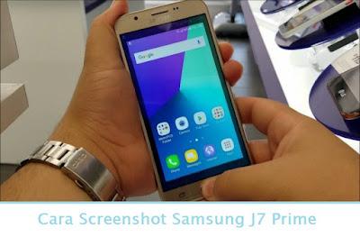 Cara Screenshot Samsung J7 Prime (Termudah.com)