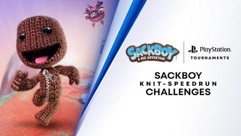 La compétition de Speedrun sur PS5 avec Sackboy a Big Adventure