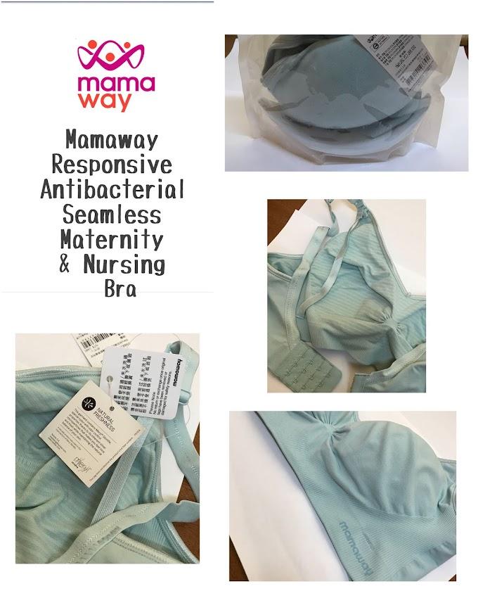 Mamaway Antibacterial Seamless Best Maternity Bra