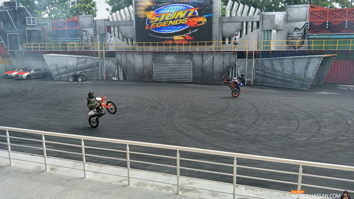 Gambar Aksi Stunt Legends Movie Animation Park Studios Perak
