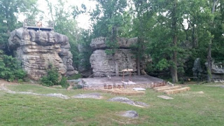 Photo of the natural amphitheater
