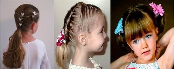 A mi manera peinados para ni as de preescolar - Como hacer peinados faciles y bonitos ...