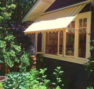 Window shades window canopy bistro blinds similar still - Interior vs exterior solar screens ...