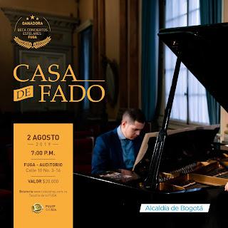 Concierto Casa de Fado en FUGA Bogotá 2019