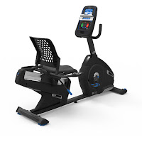 Nautilus MY18 R616 Recumbent Exercise Bike, review features compared with R618