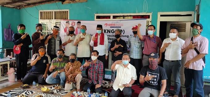 KNGR Deklarasi Dukung Idris-Imam