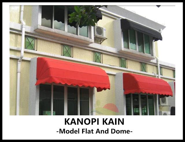 Kanopi Kain Flat and Dome