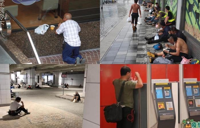 Dilema Akibat Aturan Pemerintah Terkait Pencegahan Covid-19, Banyak Pekerja di Hong Kong Terpaksa Makan di Pinggir Gang-Gang Belakang, Pinggir Jalan, Tempat Pengumpulan Sampah , Hingga Toilet Umum