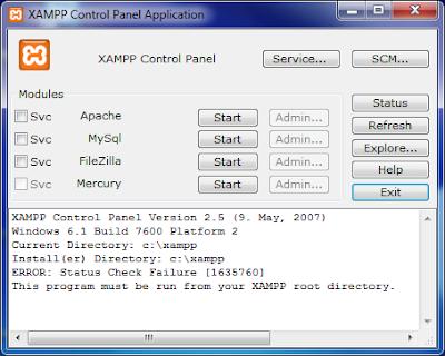 XAMPP 1.7.3 GRATUIT TÉLÉCHARGER