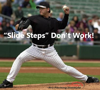 """By seamlessly eliminating the need to use your throwing arm for balance, your time to the plate matches any """"slide step"""" without compromising your pitch location."""
