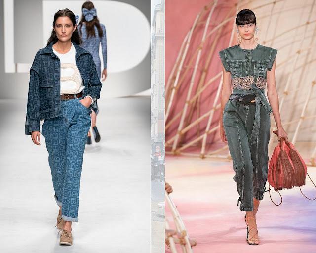 Модные джинсы весна-лето 2020 16-1