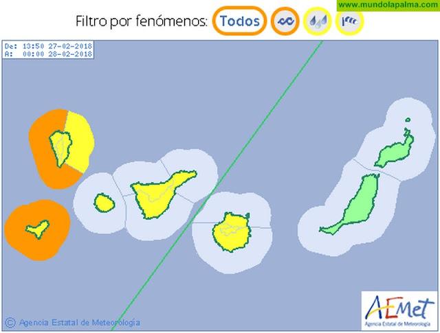 Un nuevo frente visitará Canarias durante las próximas horas