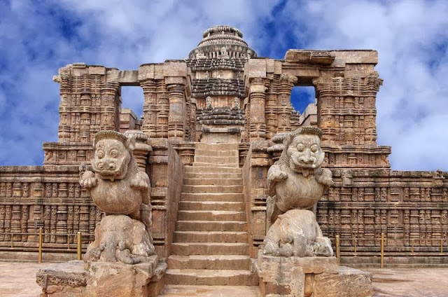 Konark Sun Temple is the most popular tourist destination in Orissa