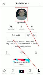 Cara Ganti Gambar Foto Profil di TikTok