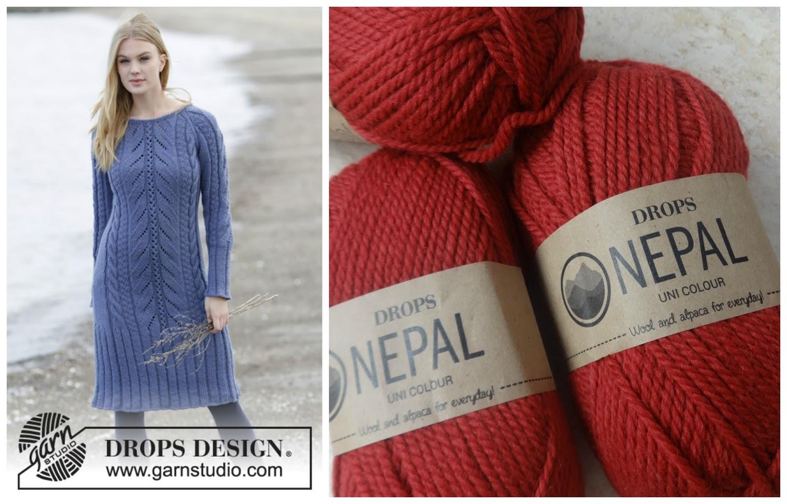 62a800ab2f6a Zimní šaty podle Drops Design