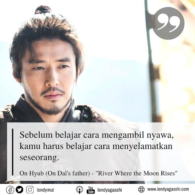 Kang Ha Neul sebagai Jenderal On Hyeob : Review dan Sinopsis Drama River Where The Moon Rises