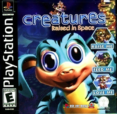 descargar creatures raised in space psx mega