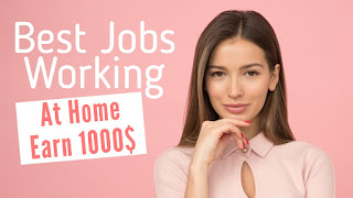 Best Jobs for working at Home