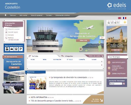 El aeropuerto de Castellón retoma su programa de visitas escolares con más de 1.500 alumnos inscritos